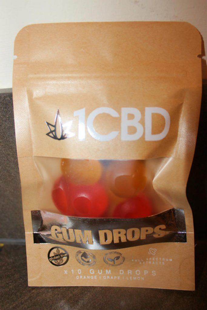1CBD 10mg CBD Gum Drops Review