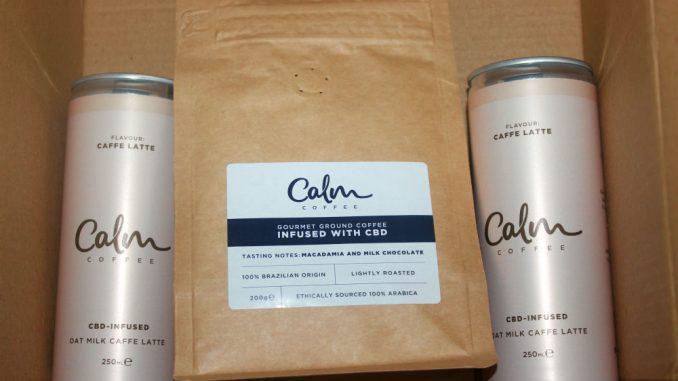 Calm Caffe Latte Oat Milk CBD Cold Brew Coffee Review