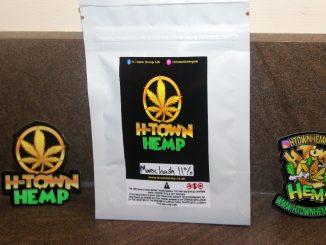 H-Town Hemp CBD 11% Morrocan Hash Review