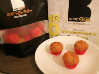 Budz Bitez Mini CBD Toffee Muffins Review