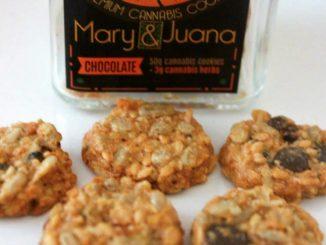 Mary & Juana Premium Chocolate Hemp Cannabis Cookies Review