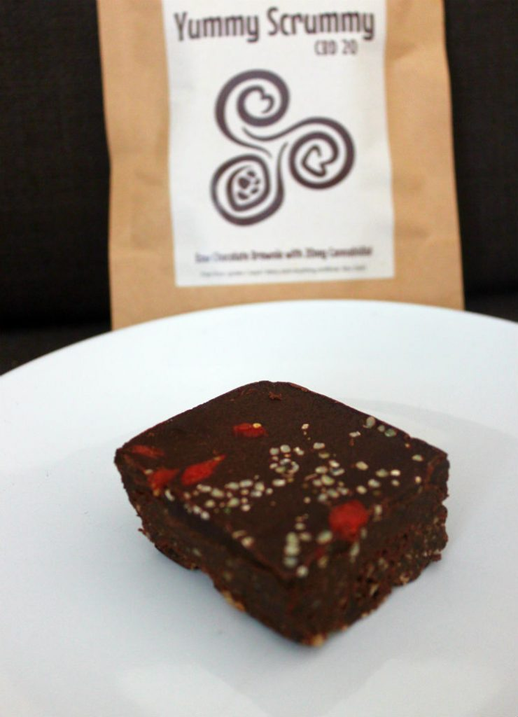 Elements For Life Yummy Scrummy 20mg CBD Raw Chocolate Brownie Review