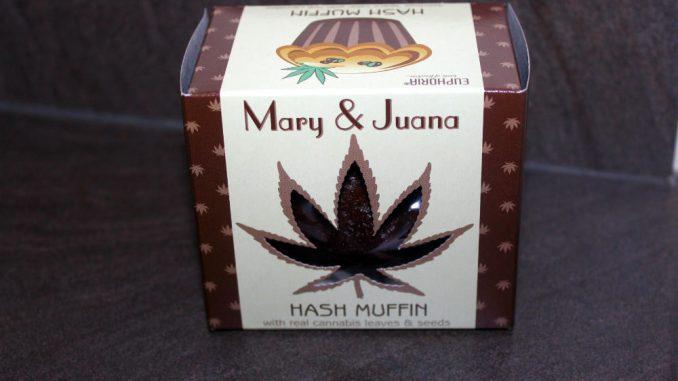 Euphoria – Mary & Juana Hemp Cannabis Hash Muffins Review