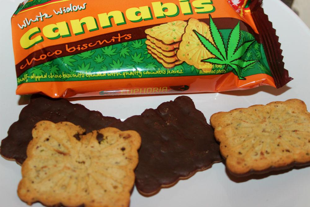 Euphoria – White Widow Hemp Cannabis Choco Biscuits Review