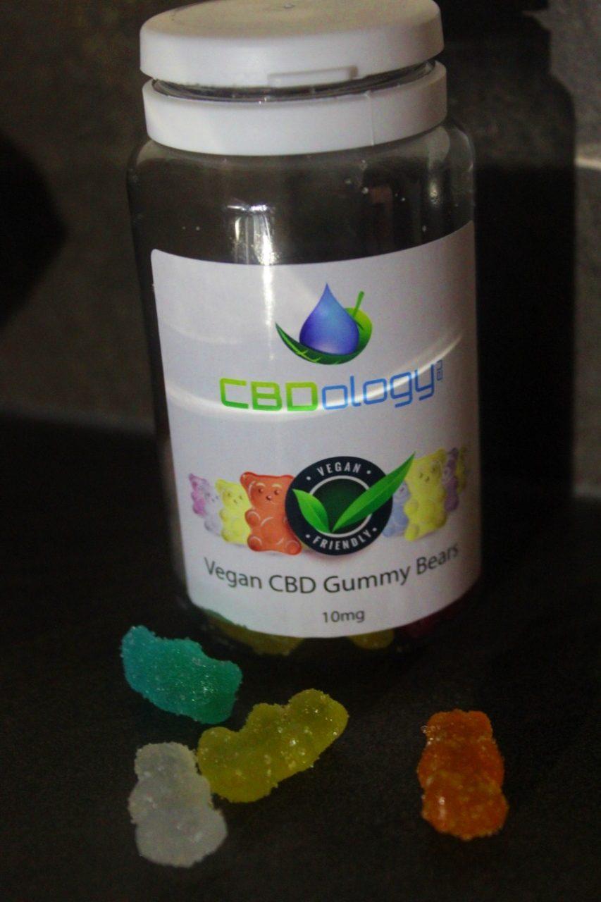 CBDology 10mg Vegan CBD Gummy Bears Review