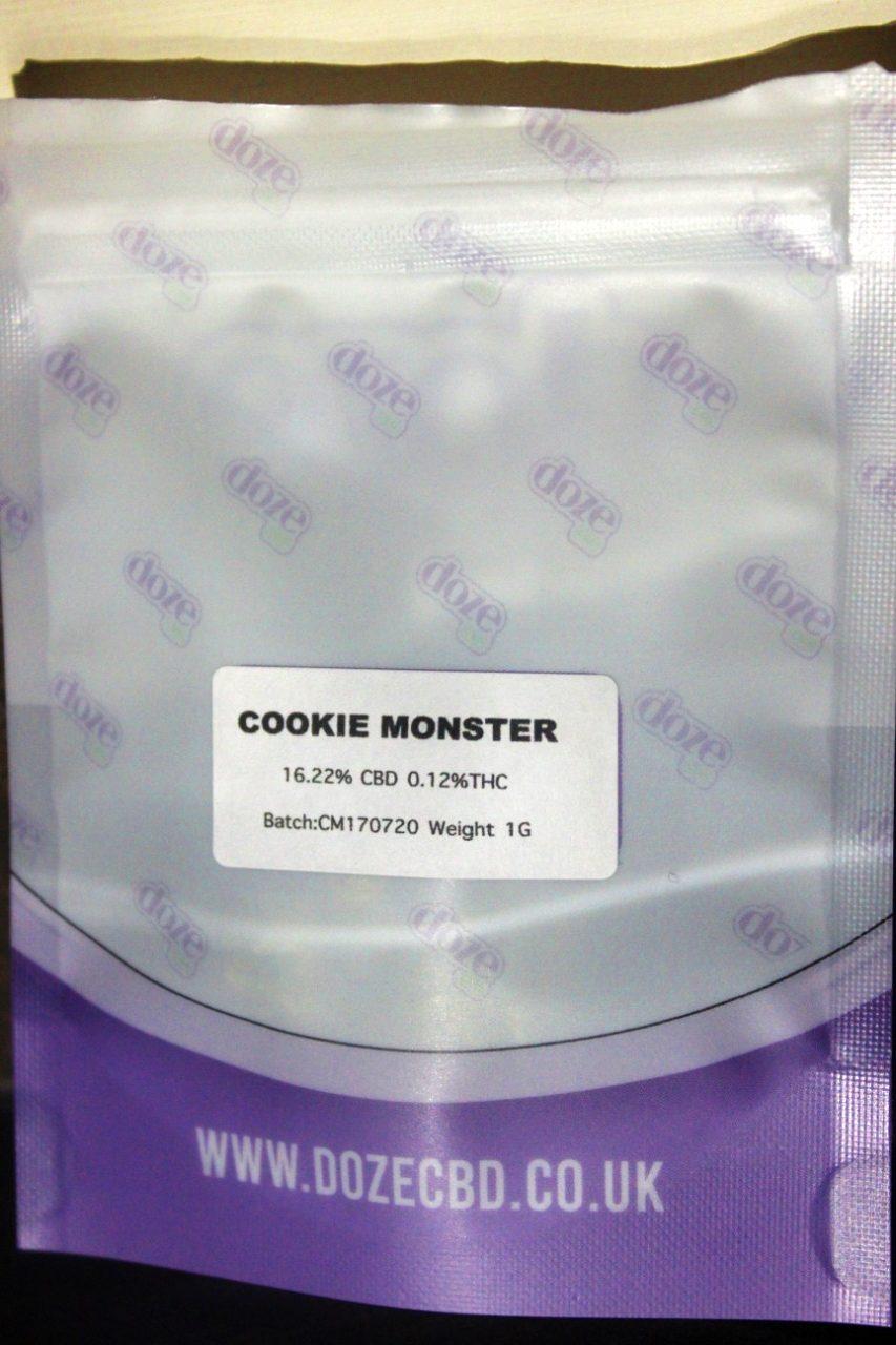 Cookie Monster DozeCBD Flower
