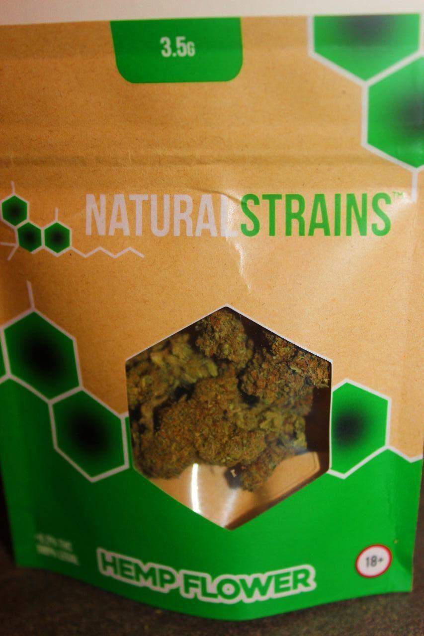 Natural Strains - Gorilla Glue 17.6% CBD Flower Review