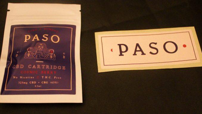 Paso CBD - Cosmic Berry 65% CBD Vape Cartridge Review