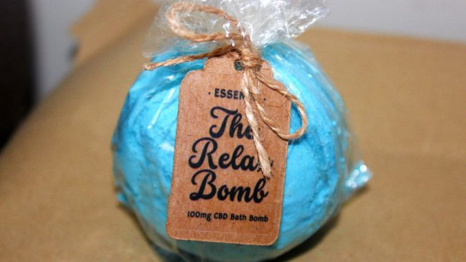 Essench – 100mg RELAX CBD Bath Bomb Review