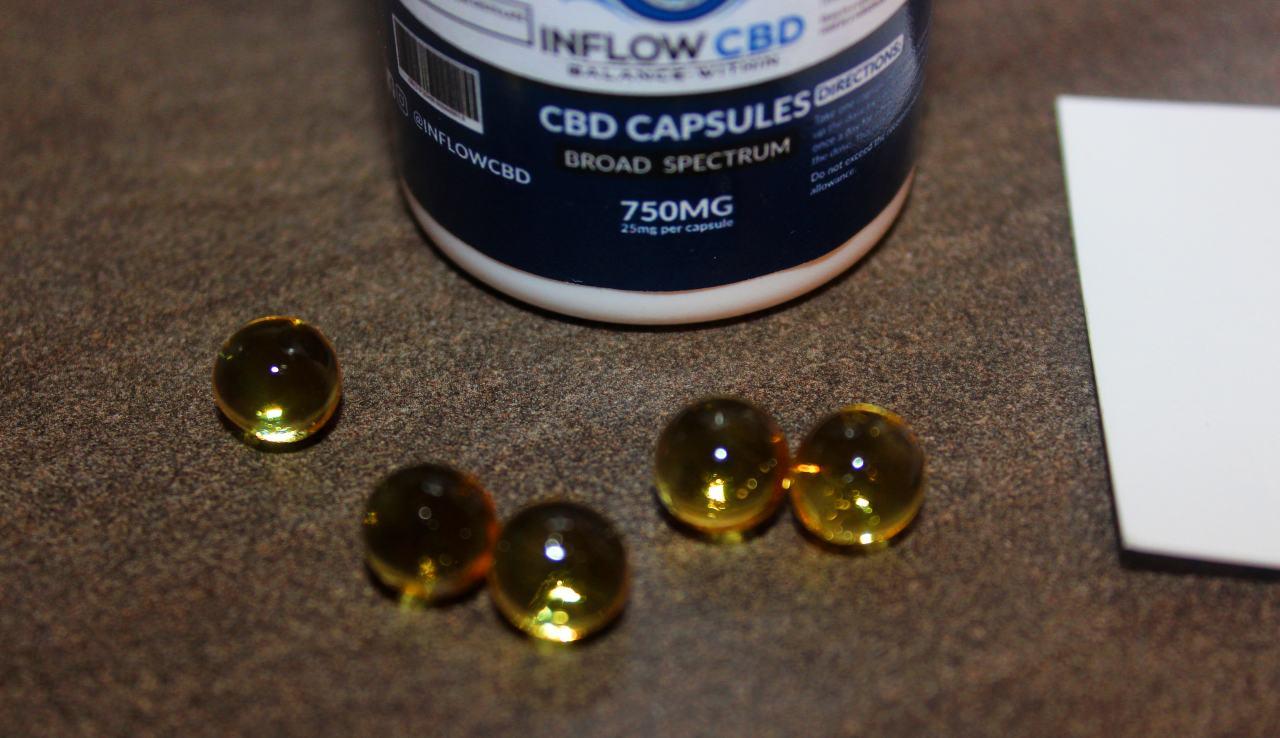 Inflow Alternative - 25mg CBD Capsules Review