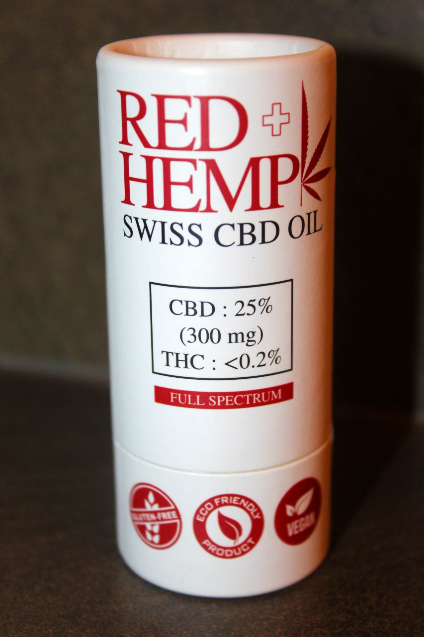 RedHemp Switzerland - 25% CBD Oil (300mg) Review