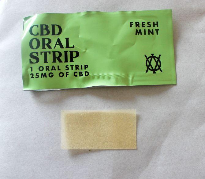 Elevar Leafs CBD Oral Strip Fresh Mint Review
