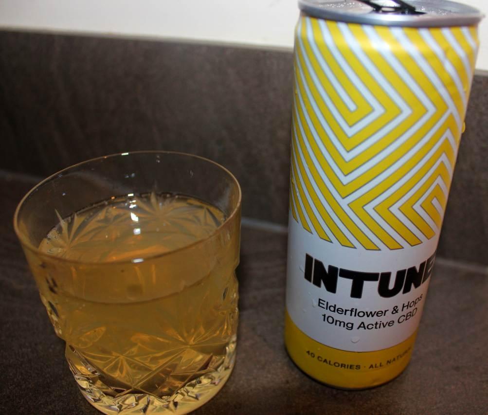 INTUNE CBD Drinks Elderflower & Hops Review