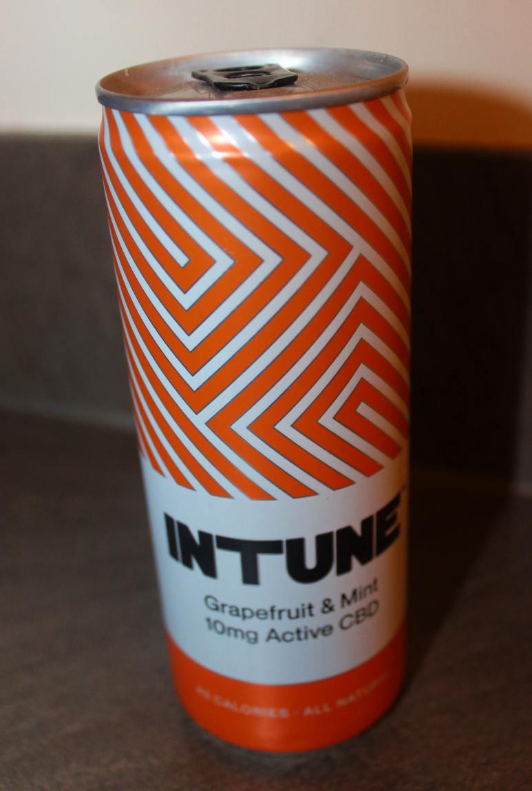 INTUNE CBD Drinks Grapefruit & Mint Review
