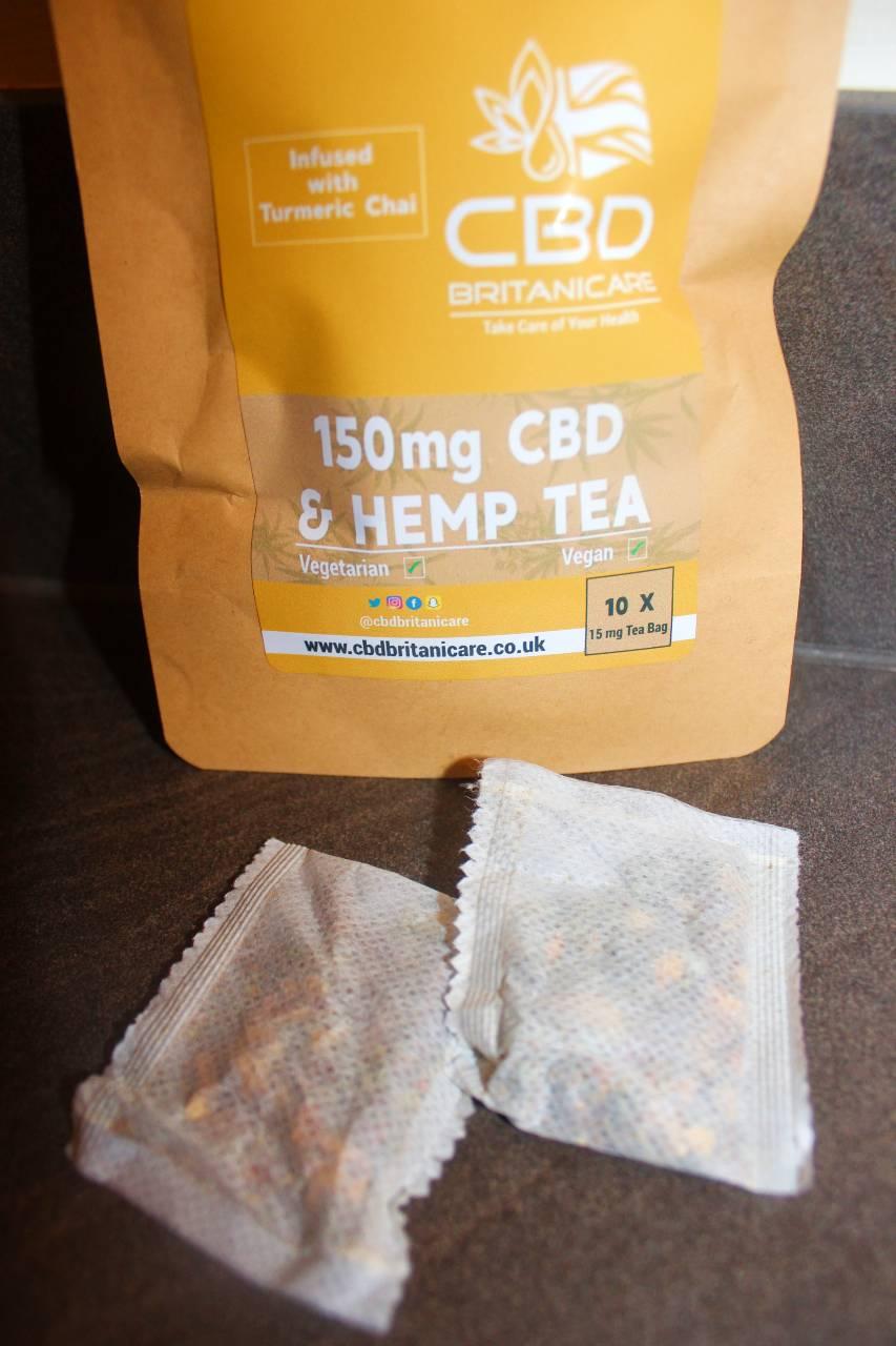 CBD Britanicare - 150mg CBD & Hemp Tea Infused With Turmeric Chai Review