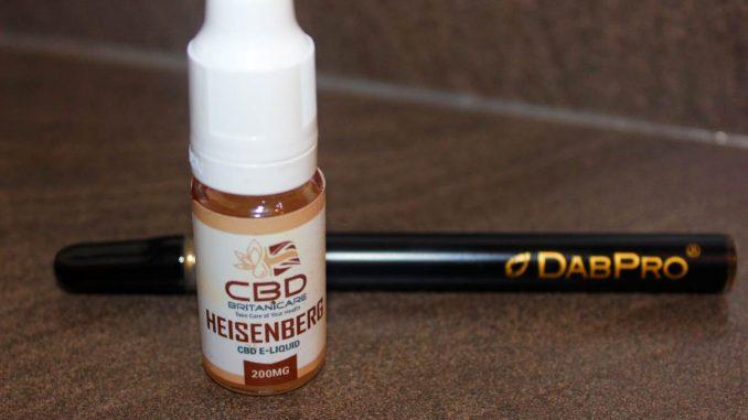 CBD Britanicare - Heisenberg 200mg CBD E-Liquid Review