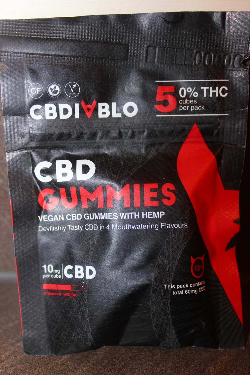 CBDiablo - 10mg Vegan CBD Gummies Review