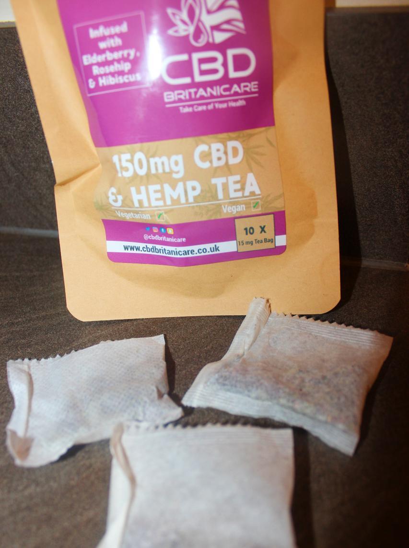 CBD Britanicare – 150mg CBD & Hemp Tea Infused With Elderberry, Rosehip & Hibiscus Review