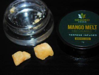 Graded Green - Mango Melt Broad Spectrum CBD Crumble Review