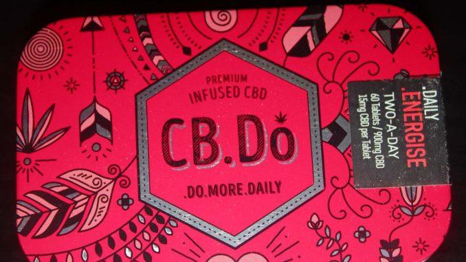 CB.Do - Energise CBD Oil Tablets Review