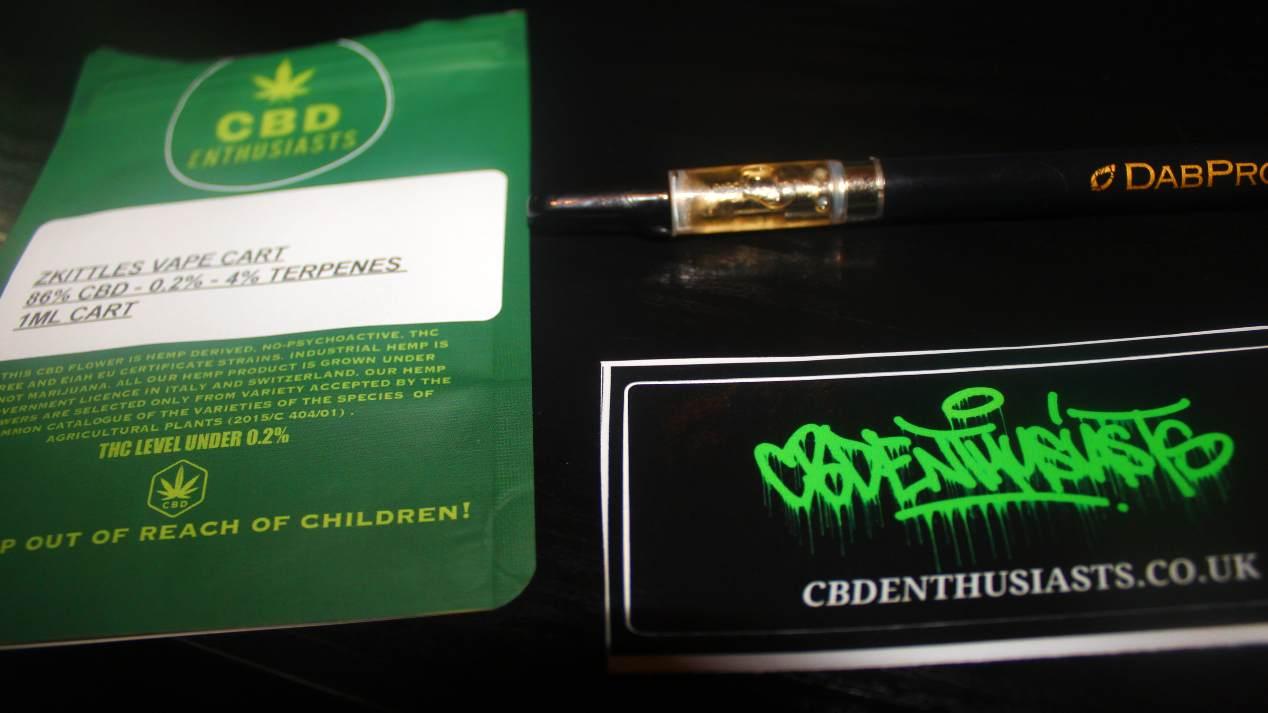 CBD Enthusiasts – Zkittles 86% CBD Vape Cartridge Review