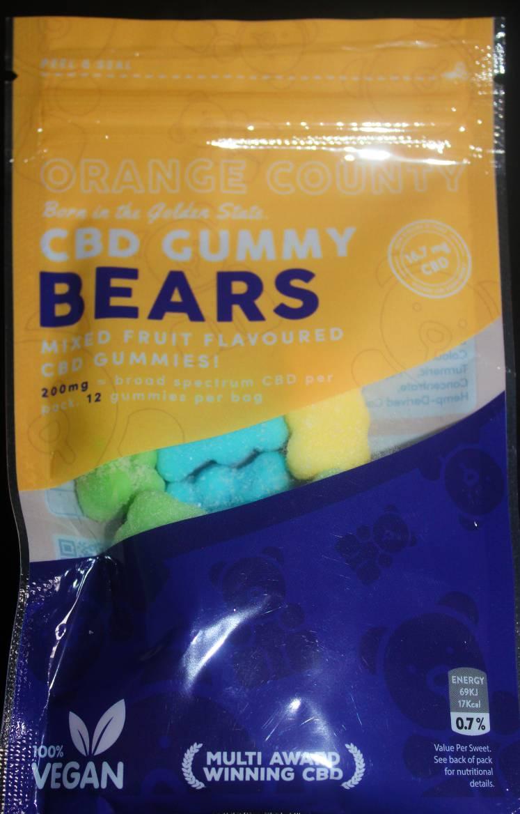 Orange County CBD Gummy Bears Grab Bag (200mg) Review